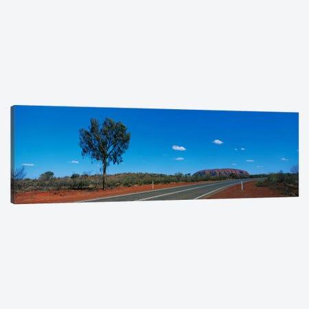 Road Ayers Rock Uluru-Kata Tjuta National Park Australia Canvas Print #PIM2431} by Panoramic Images Canvas Art