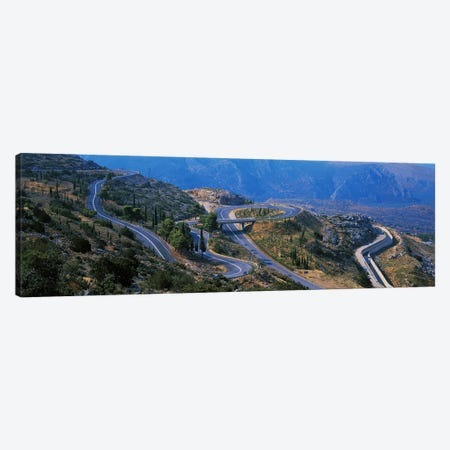 Highway Delphi Greece Canvas Print #PIM2432} by Panoramic Images Canvas Art