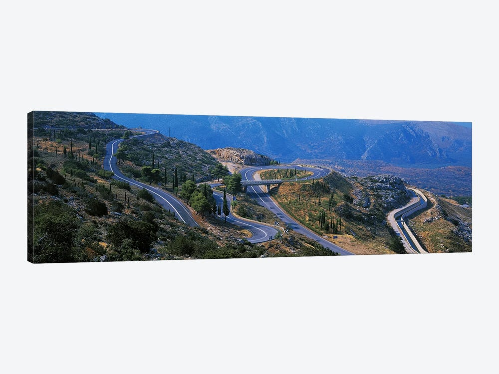 Highway Delphi Greece by Panoramic Images 1-piece Canvas Artwork