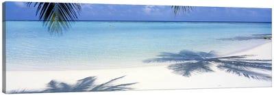 Laguna Maldives Canvas Art Print