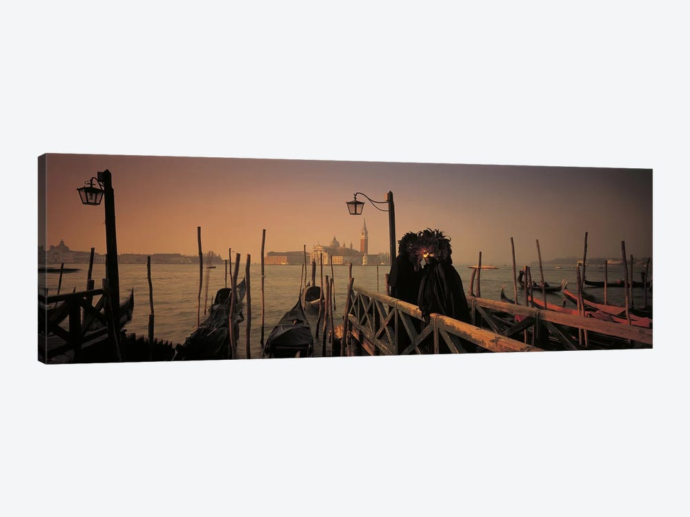 Carnival Venice Italy by Panoramic Images 1-piece Canvas Art Print