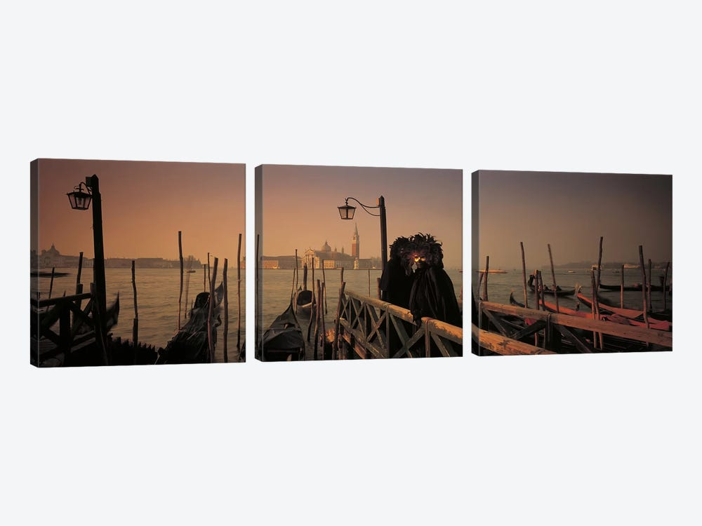 Carnival Venice Italy by Panoramic Images 3-piece Art Print