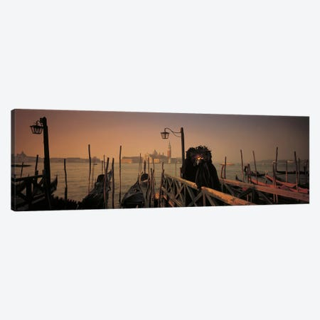 Carnival Venice Italy 3-Piece Canvas #PIM2437} by Panoramic Images Art Print