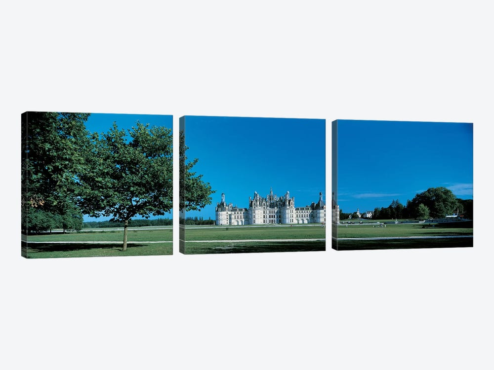 Chambord Castle Loire France by Panoramic Images 3-piece Canvas Art Print