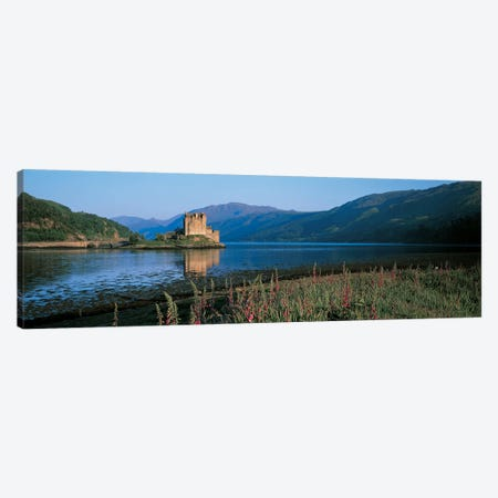 Eilean Donan Castle & Loch Duich Scotland Canvas Print #PIM2440} by Panoramic Images Canvas Print