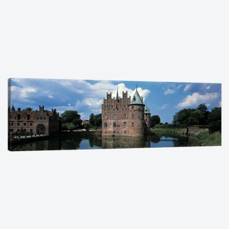Egeskov Castle Odense Denmark Canvas Print #PIM2441} by Panoramic Images Canvas Print