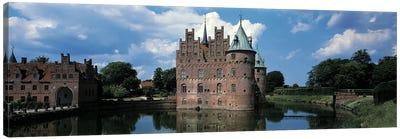 Egeskov Castle Odense Denmark Canvas Print #PIM2441