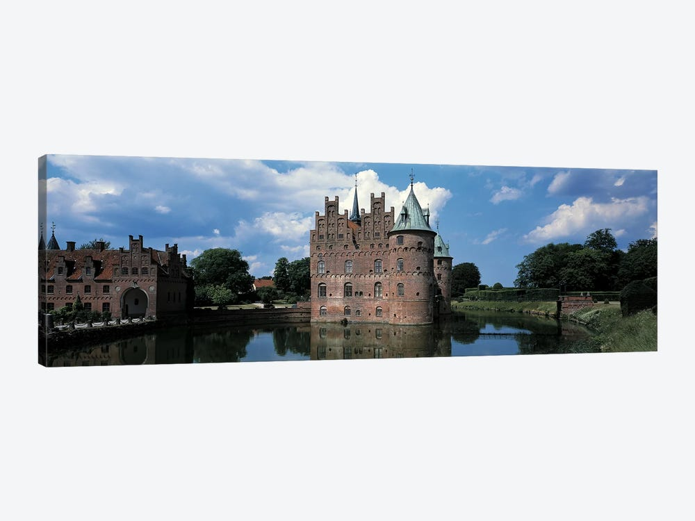 Egeskov Castle Odense Denmark by Panoramic Images 1-piece Canvas Art