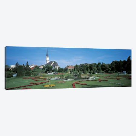 Schonbrunn Palace Vienna Austria Canvas Print #PIM2443} by Panoramic Images Art Print