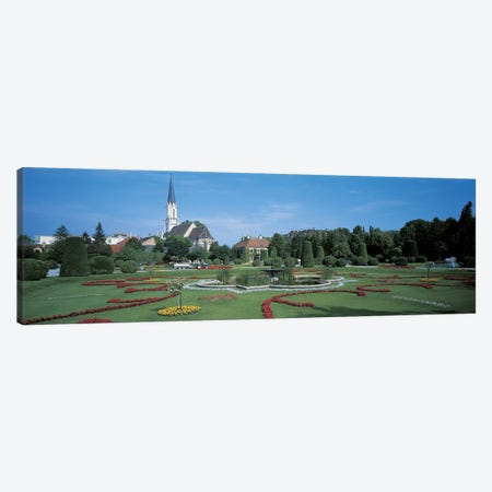 Schonbrunn Palace Vienna Austria Canvas Print #PIM2443} by Panoramic Images Art Print