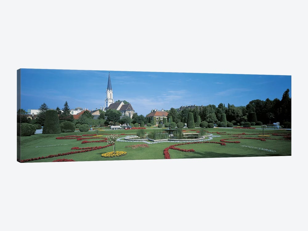 Schonbrunn Palace Vienna Austria by Panoramic Images 1-piece Canvas Wall Art