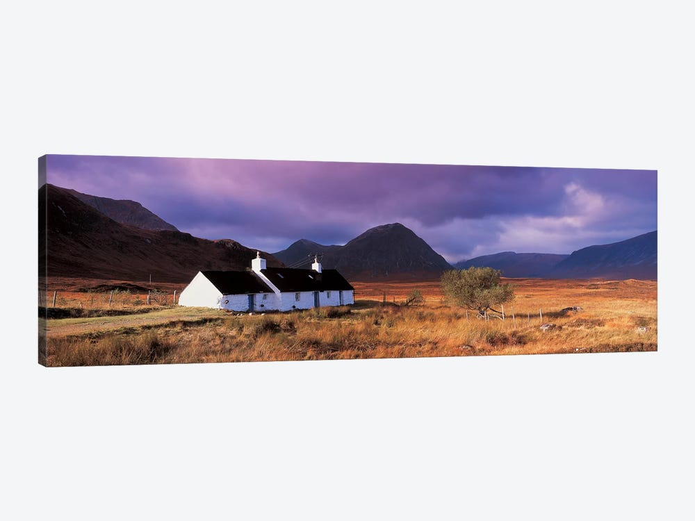 Black Rock Cottage White Corries Glencoe Scotland 1-piece Canvas Art Print