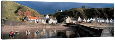 Pennan Banffshire Scotland Canvas Art Print