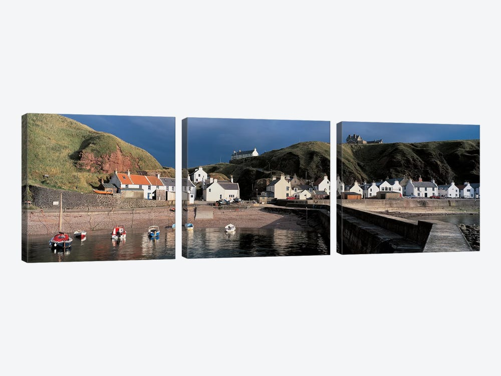 Pennan Banffshire Scotland by Panoramic Images 3-piece Art Print