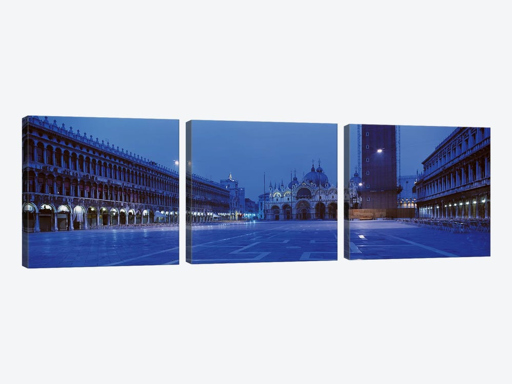 San Marco Square Venice Italy by Panoramic Images 3-piece Canvas Print