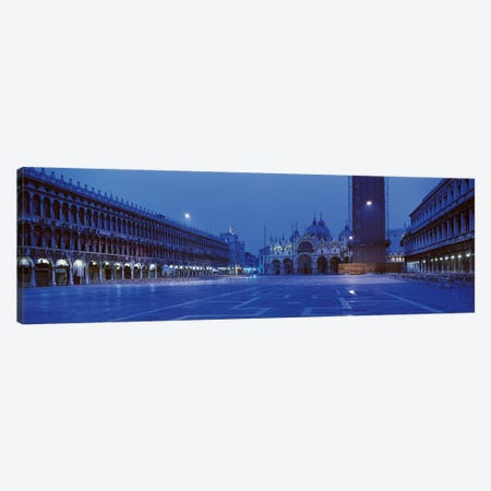 San Marco Square Venice Italy Canvas Print #PIM2457} by Panoramic Images Canvas Print