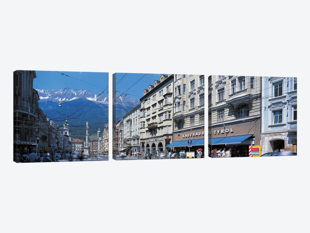 Innsbruck Tirol Austria by Panoramic Images 3-piece Canvas Print