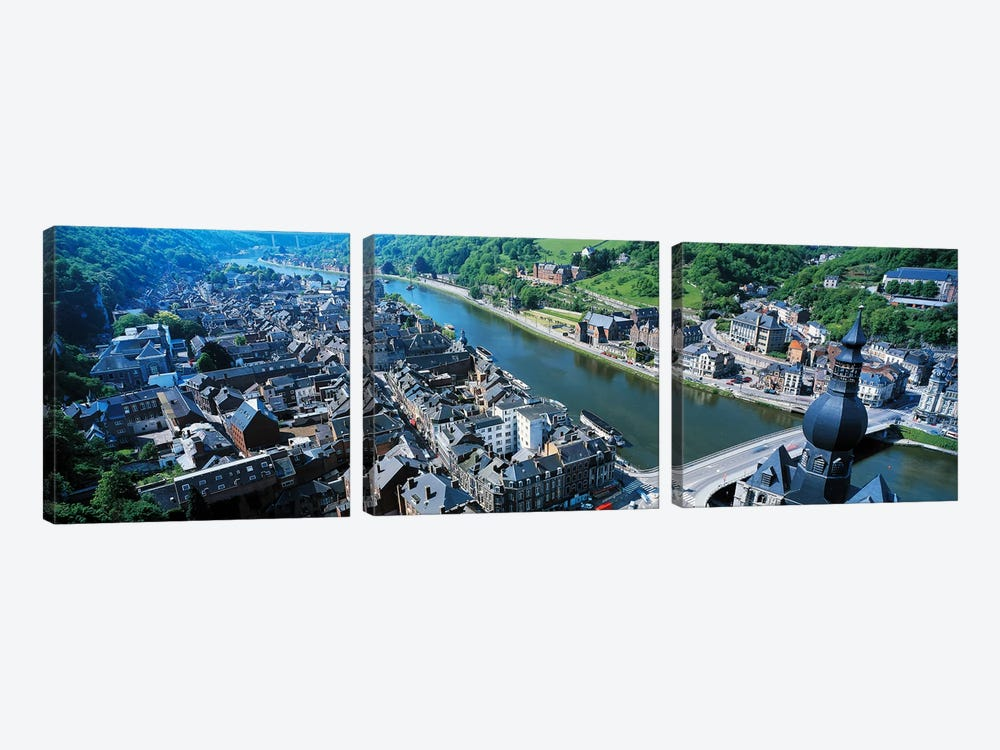Dinant Ardennes Belgium by Panoramic Images 3-piece Canvas Art Print