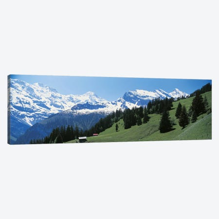 Murren Switzerland Canvas Print #PIM2461} by Panoramic Images Canvas Art Print