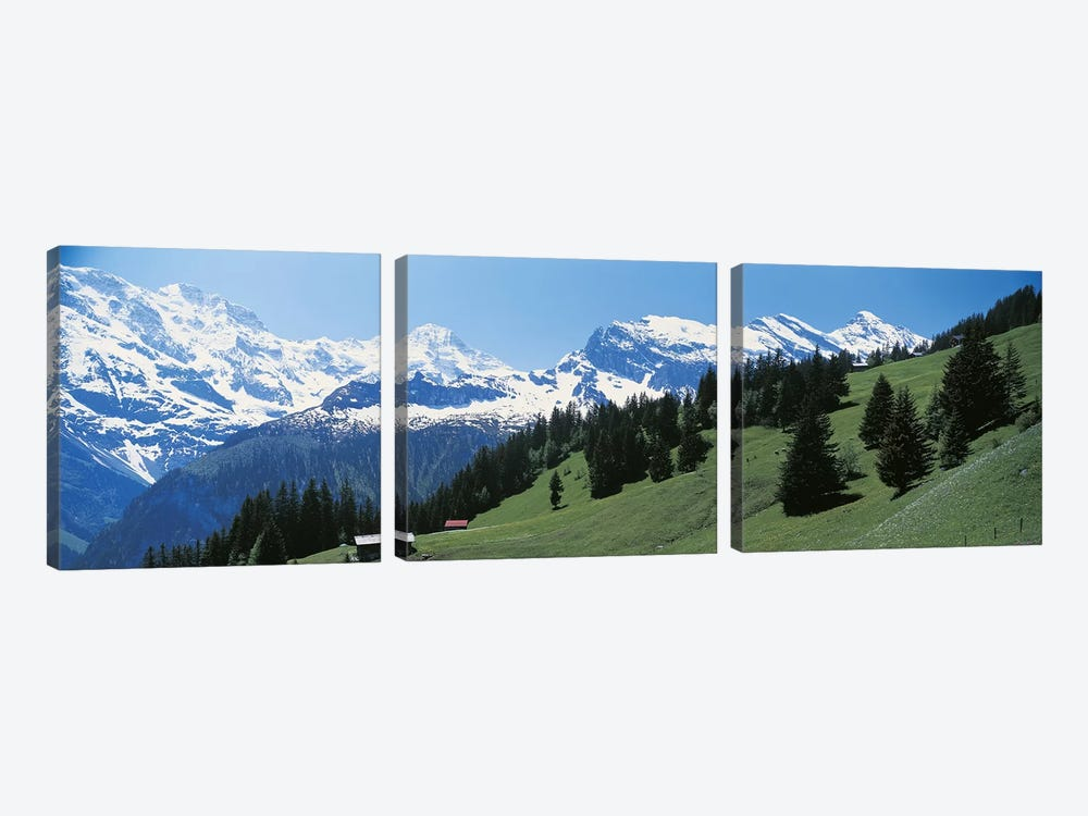 Murren Switzerland by Panoramic Images 3-piece Canvas Wall Art