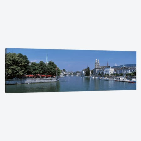 Zurich Switzerland Canvas Print #PIM2463} by Panoramic Images Canvas Print