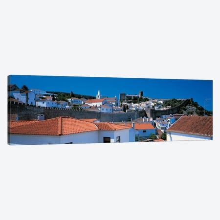 Obidos Portugal Canvas Print #PIM2464} by Panoramic Images Canvas Artwork