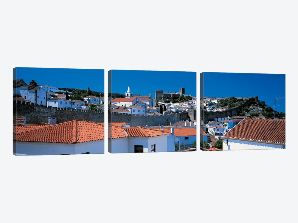 Obidos Portugal by Panoramic Images 3-piece Canvas Art Print