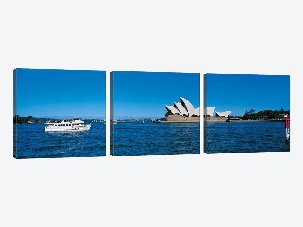 Opera House Sydney Australia by Panoramic Images 3-piece Canvas Print