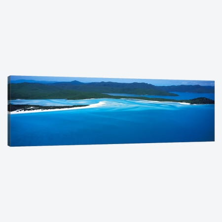 White Heaven Beach Great Barrier Reef Queensland Australia Canvas Print #PIM2468} by Panoramic Images Canvas Art Print
