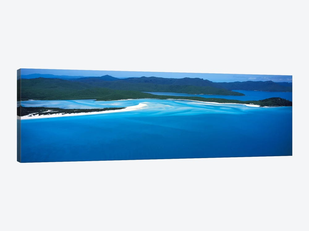 White Heaven Beach Great Barrier Reef Queensland Australia by Panoramic Images 1-piece Canvas Art Print
