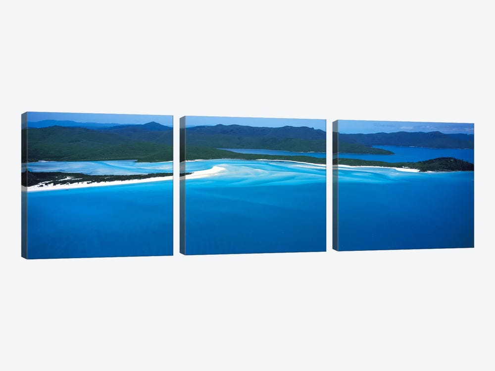 White Heaven Beach Great Barrier Reef Queensland Australia by Panoramic Images 3-piece Canvas Print