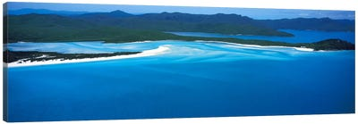 White Heaven Beach Great Barrier Reef Queensland Australia Canvas Art Print