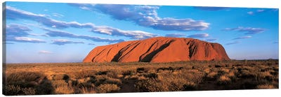 Sunset Ayers Rock Uluru-Kata Tjuta National Park Australia Canvas Print #PIM2469