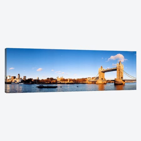 Tower Of London And Tower Bridge, London, England, United Kingdom Canvas Print #PIM246} by Panoramic Images Canvas Print