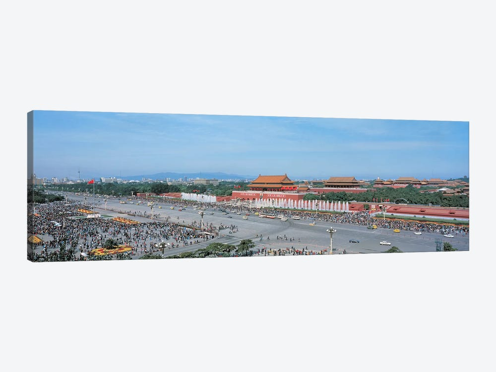 Tiananmen Square Beijing China by Panoramic Images 1-piece Canvas Artwork