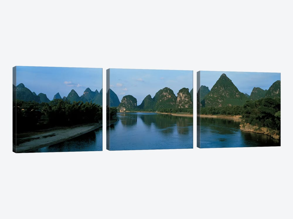 Guilin Guanxi China 3-piece Canvas Art Print