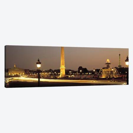 Place de la Concorde Paris France Canvas Print #PIM2482} by Panoramic Images Canvas Print