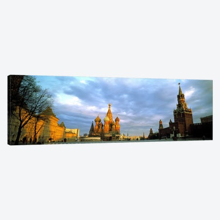 Red Square Moscow Russia Canvas Print #PIM2483} by Panoramic Images Art Print