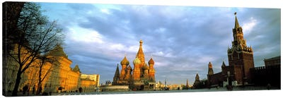 Red Square Moscow Russia Canvas Art Print