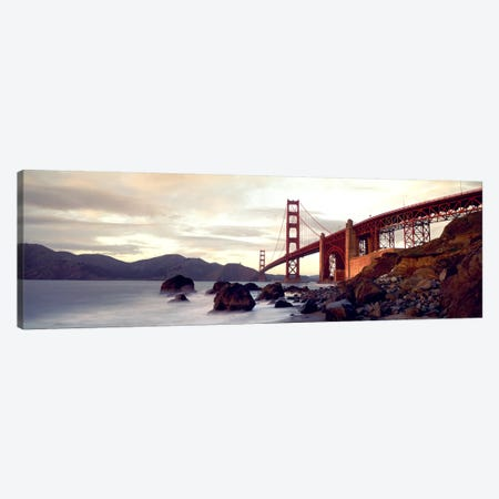 Golden Gate Bridge San Francisco CA USA Canvas Print #PIM2484} by Panoramic Images Canvas Artwork