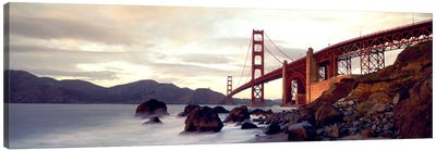 Golden Gate Bridge San Francisco CA USA Canvas Art Print