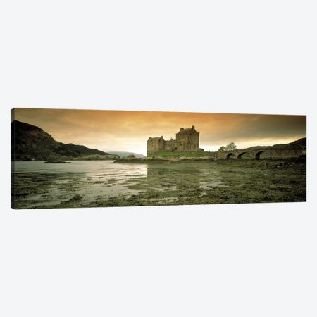 Eilean Donan Castle Scotland Canvas Print #PIM2485} by Panoramic Images Canvas Artwork