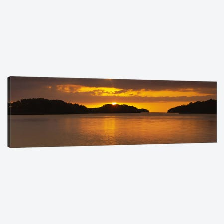 Islands in the seaEverglades National Park, Miami, Florida, USA Canvas Print #PIM2487} by Panoramic Images Canvas Artwork