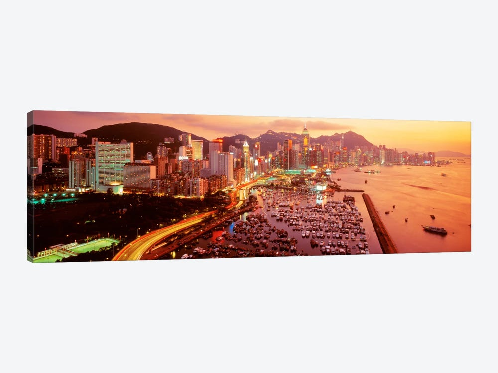 Hong Kong by Panoramic Images 1-piece Art Print