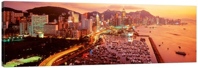 Hong Kong Canvas Art Print