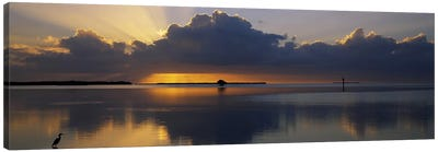 Reflection of clouds in the seaEverglades National Park, near Miami, Florida, USA Canvas Print #PIM2490