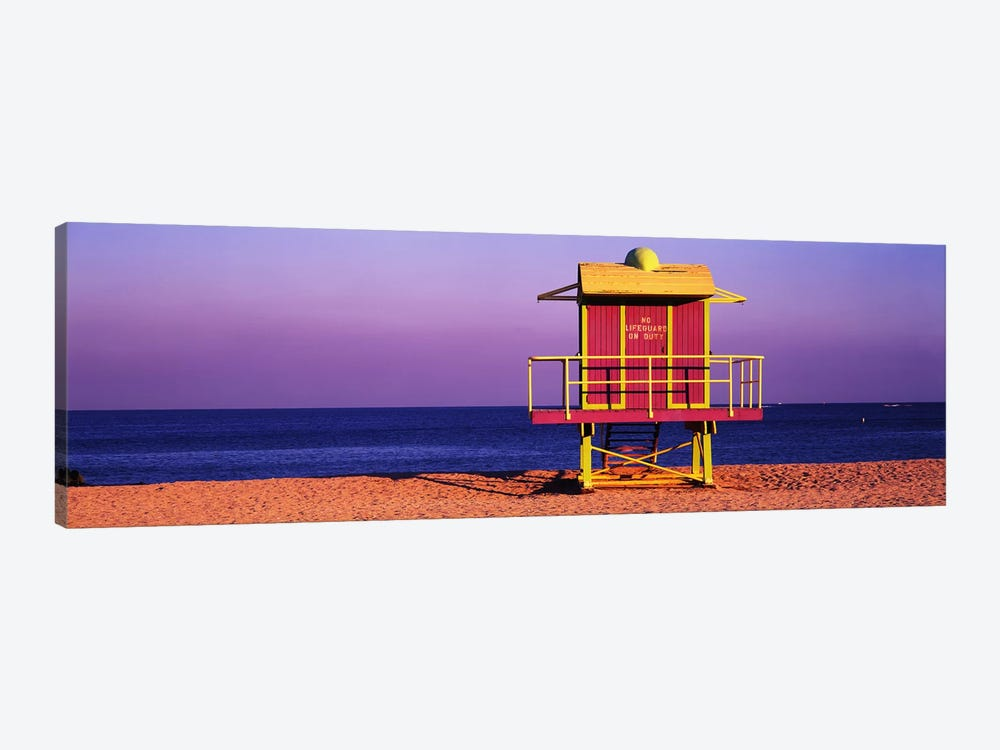 Lifeguard HutMiami Beach, Florida, USA by Panoramic Images 1-piece Canvas Art