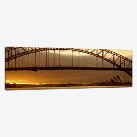 Harbor Bridge Sydney Australia Canvas Print #PIM2497} by Panoramic Images Art Print