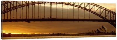 Harbor Bridge Sydney Australia Canvas Print #PIM2497