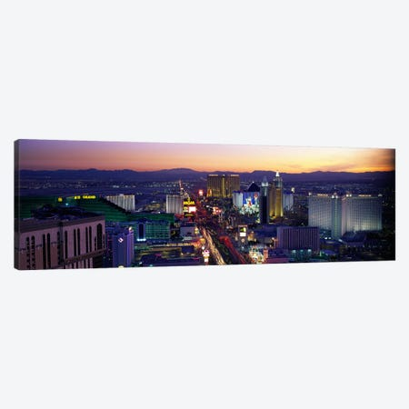The StripLas Vegas, Nevada, USA Canvas Print #PIM2499} by Panoramic Images Canvas Art